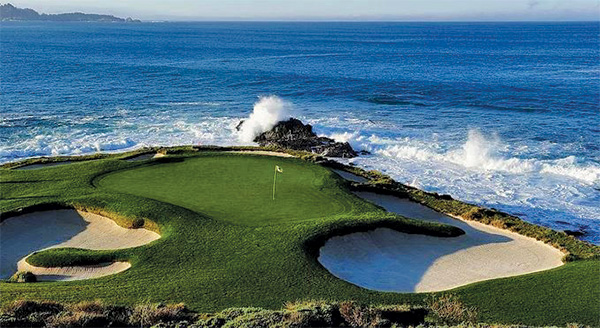 Play at Pebble Beach Golf Links