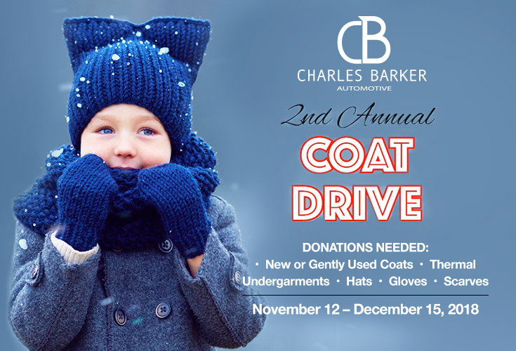 Charles Barker Automotive Second Annual Coat Drive